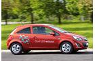 Opel Corsa LPG, Seitenansicht
