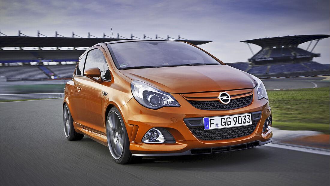 Opel Corsa Nürburgring Edition, Exterieur