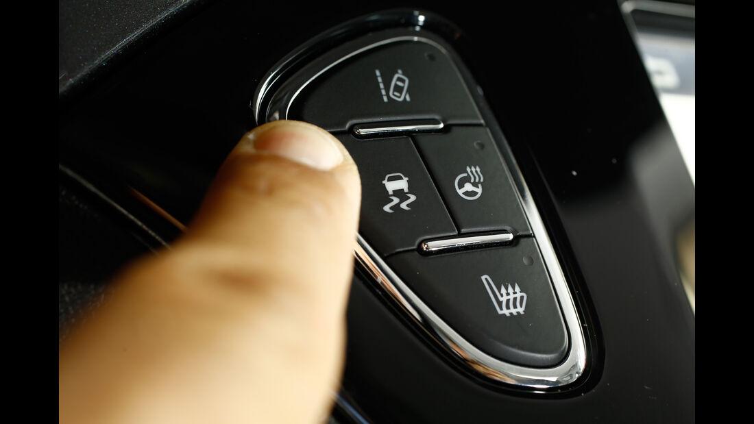 Opel Corsa OPC, Bedienelement
