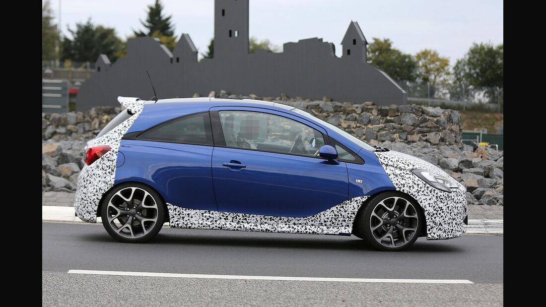 Opel Corsa OPC Erlkönig