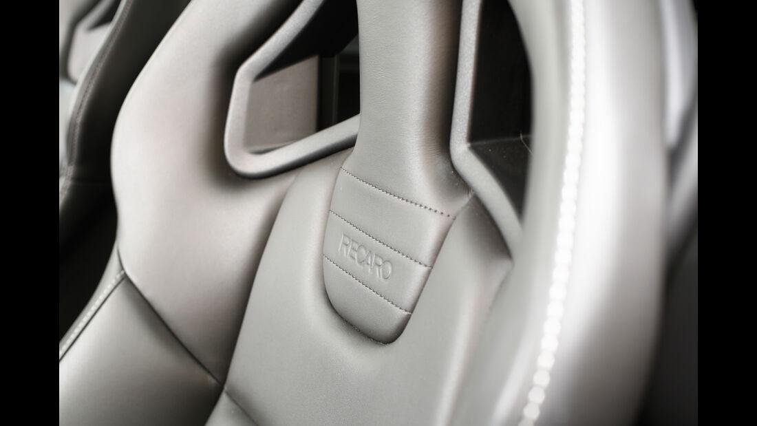 Opel Corsa OPC, Fahrersitz, Detail