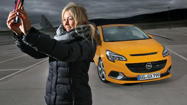 Opel Corsa OPC, Frontansicht, Natalie Diedrichs
