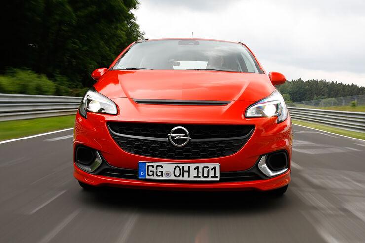 Opel Corsa OPC, Frontansicht