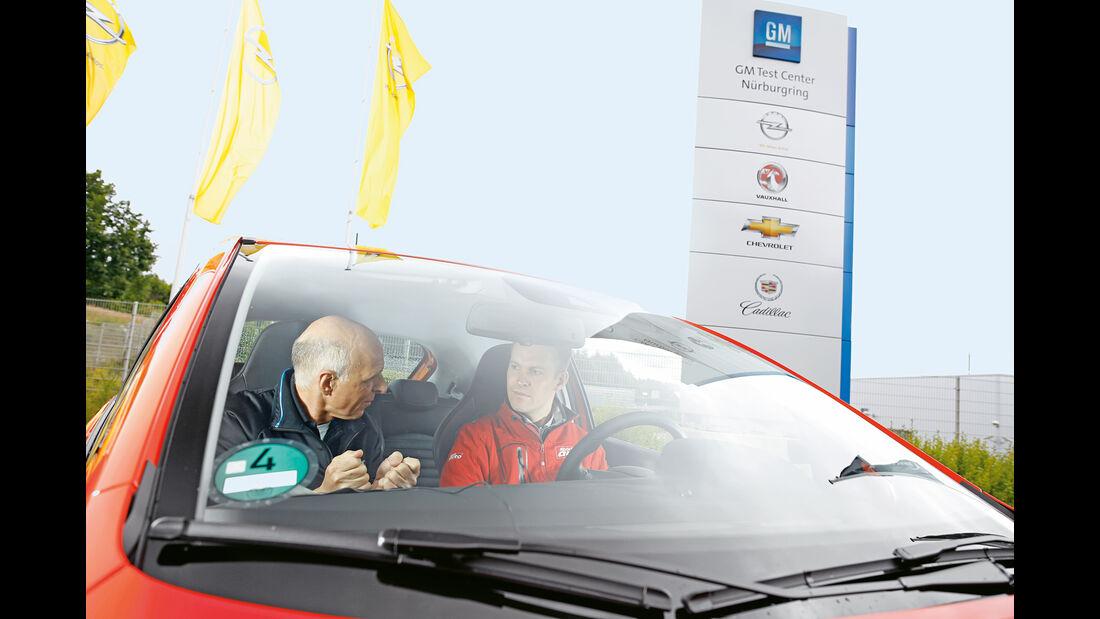 Opel Corsa OPC, Frontscheibe