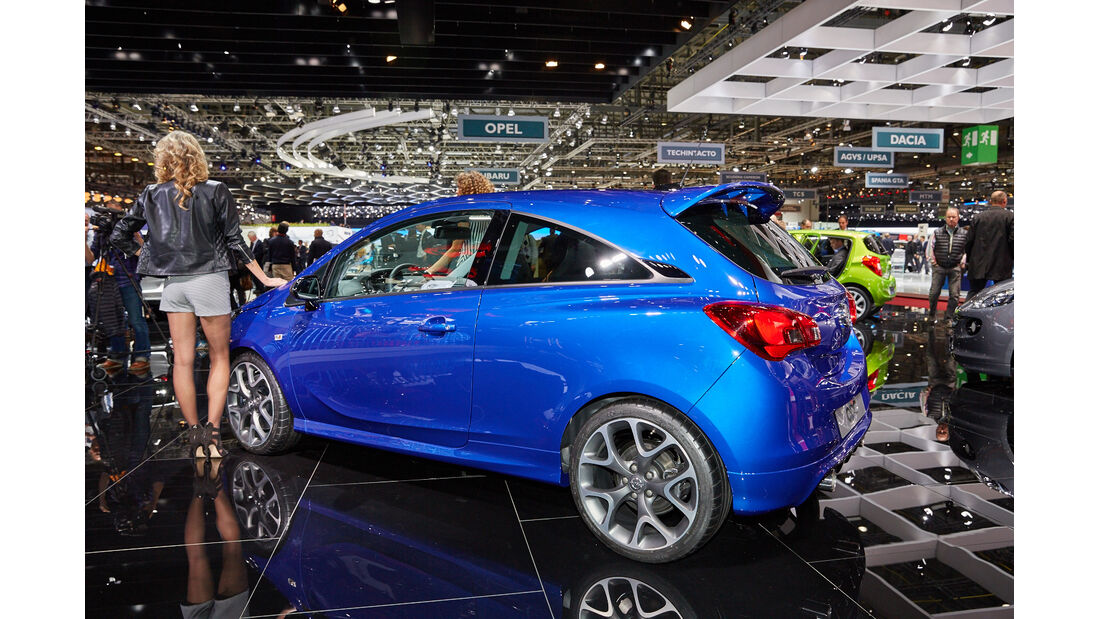 Opel Corsa OPC - Genfer Autosalon 2015