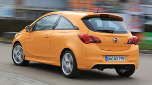 Opel Corsa OPC, Heckansicht