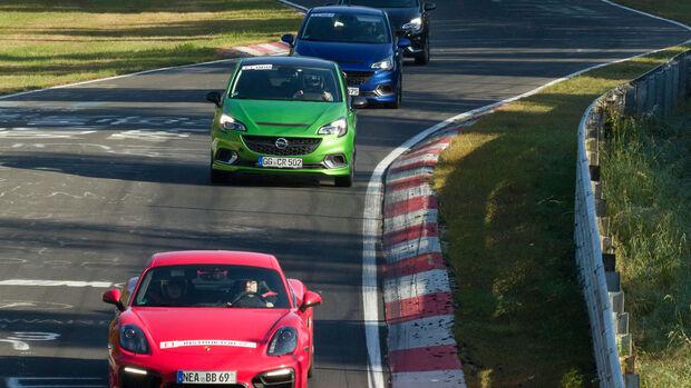 Opel Corsa  OPC - Nordschleife - Sportfahrer-Training