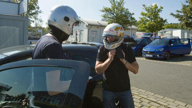Opel Corsa  OPC - Nordschleife - Sportfahrer-Training - Volker Strycek