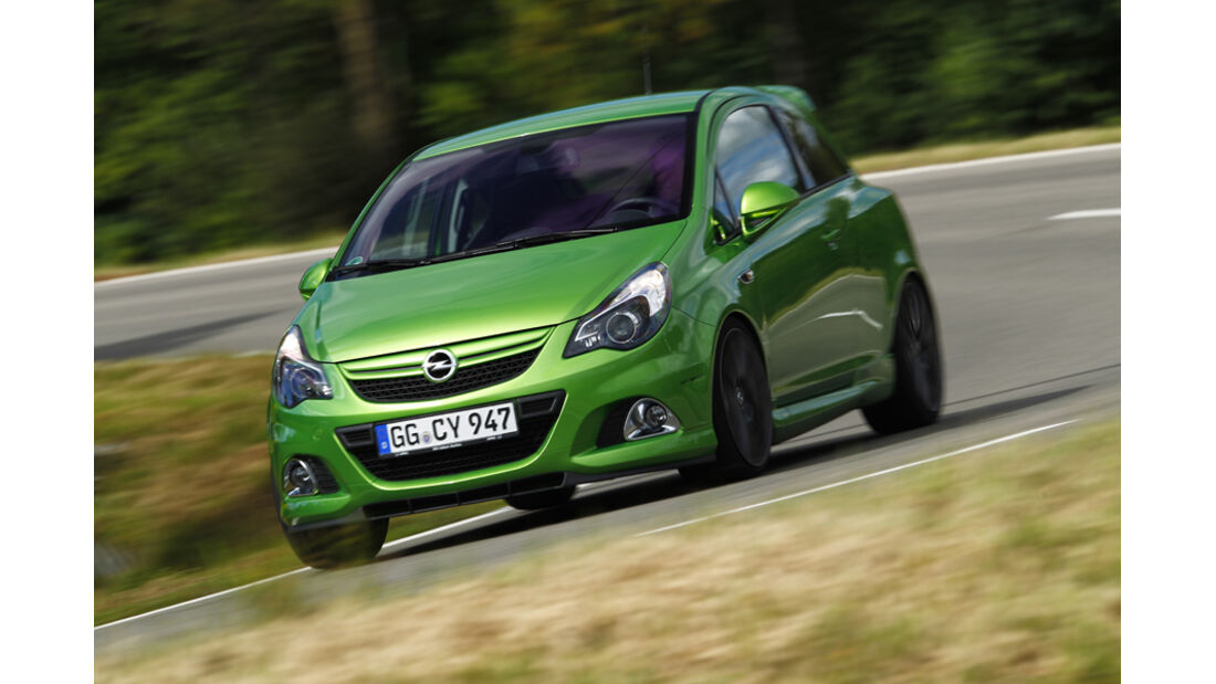Opel Corsa OPC Nürburgring Edition, Frontansicht