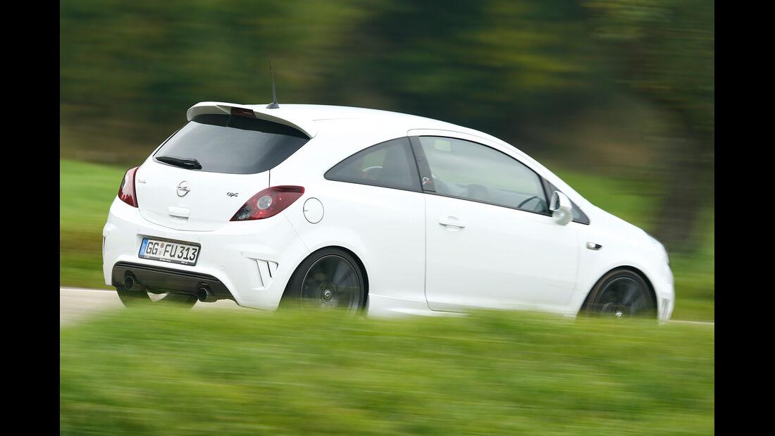 Opel Corsa OPC Nürburgring Edition, Seitenansicht