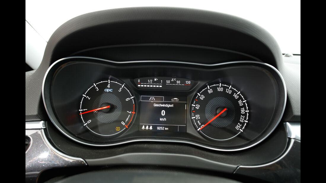 Opel Corsa OPC, Rundinstrumente