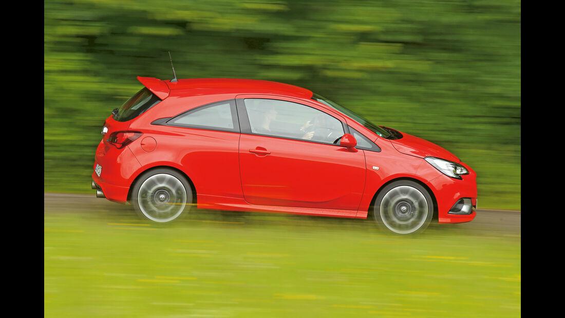 Opel Corsa OPC, Seitenansicht