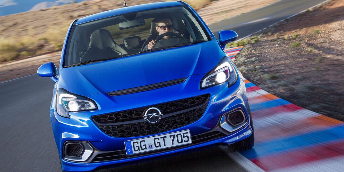 Opel Corsa OPC Sperrfrist 4.2.2015