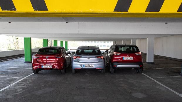 Opel Corsa, Opel Astra, Opel Crossland X, Exterieur