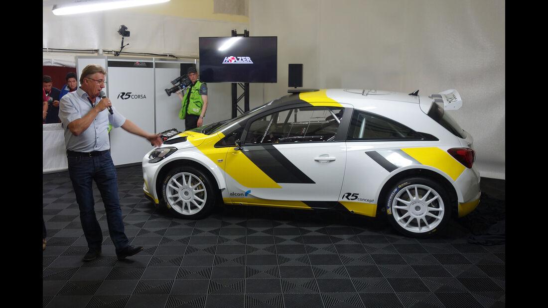 Opel Corsa R5 Holzer - 2017
