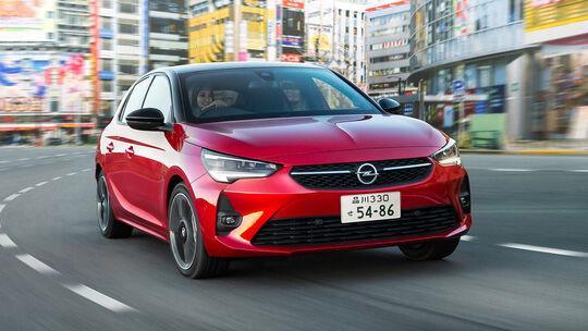 Opel Corsa Rechtslenker Japan
