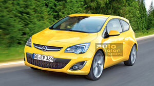 Opel Corsa Retusche