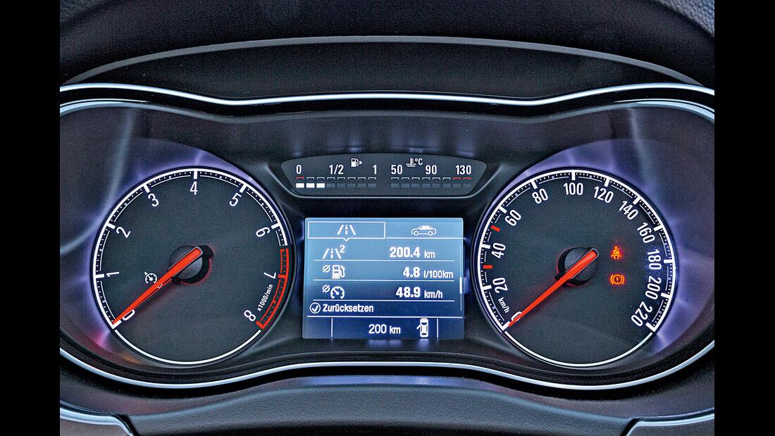 Opel Corsa, Rundinstrumente