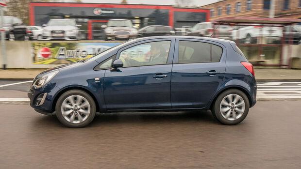 Opel Corsa, Seite