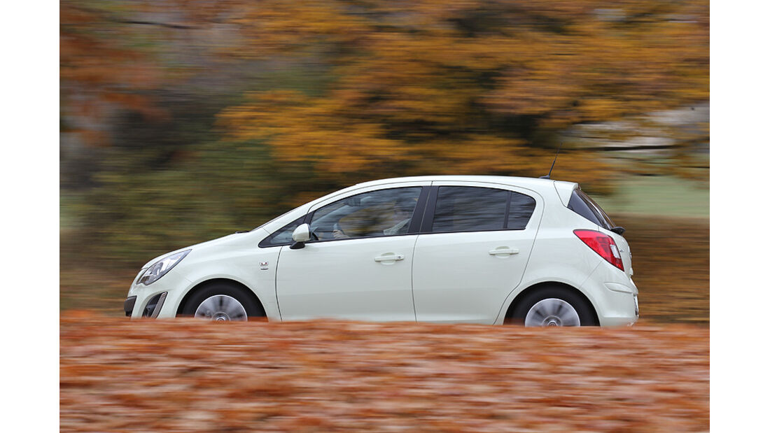Opel Corsa Seitenansicht