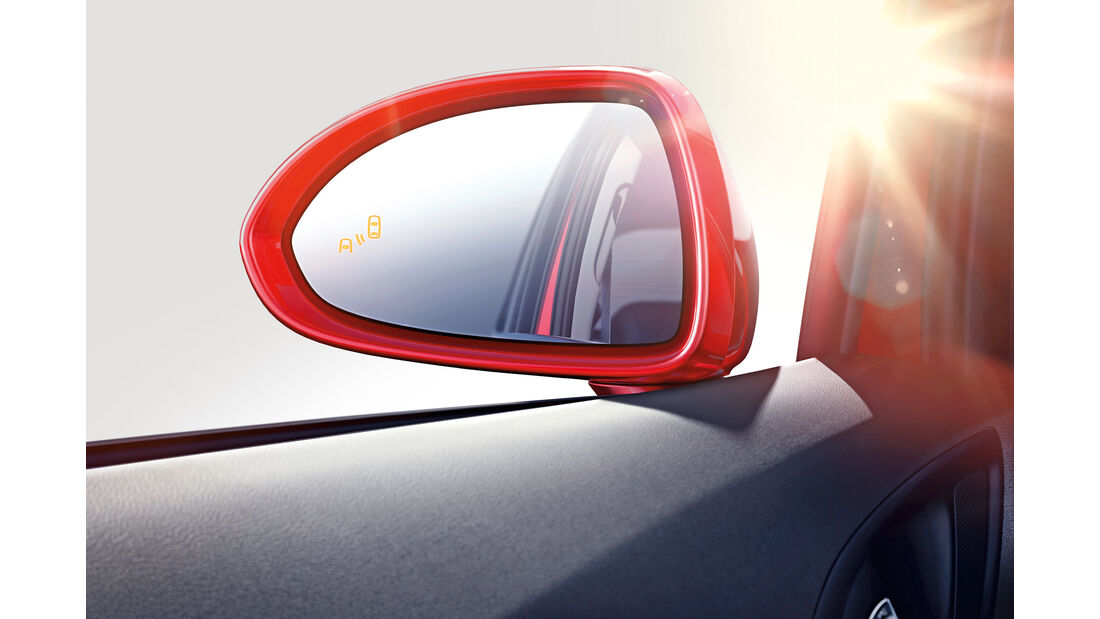 Opel Corsa, Seitenspiegel