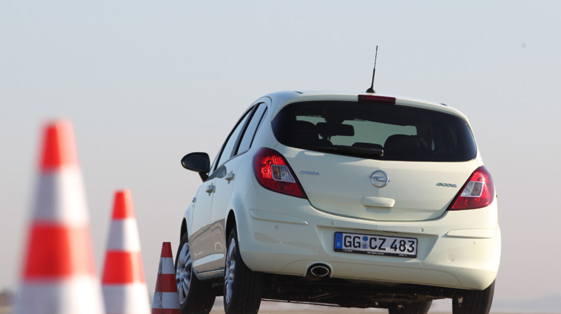 Opel Corsa, Slalom