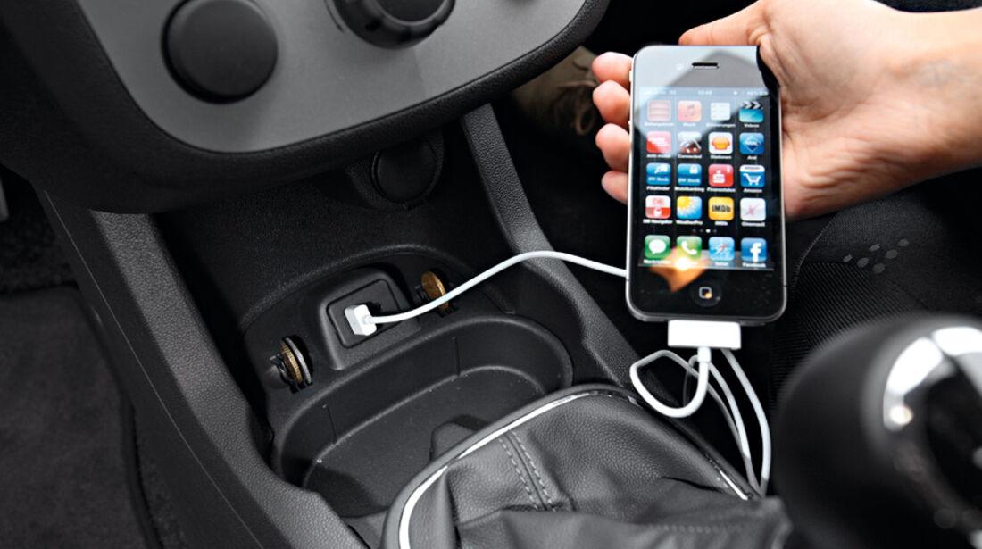 Opel Corsa, USB-Anschluss