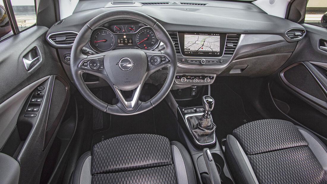 Opel Corssland X, Interieur