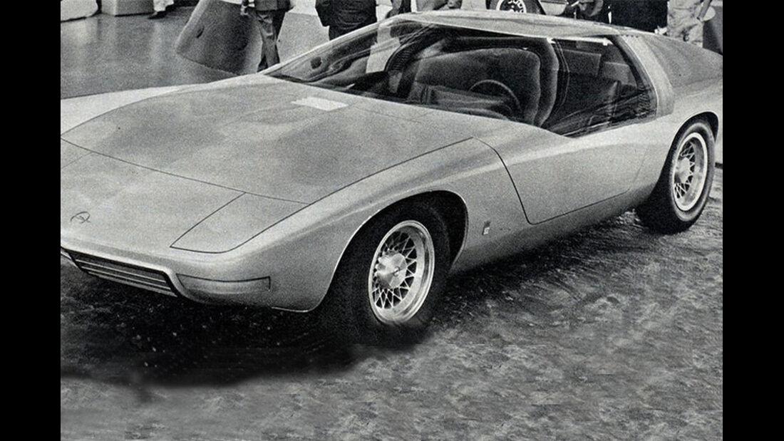 Opel, Coupé Diplomat, Iaa 1969