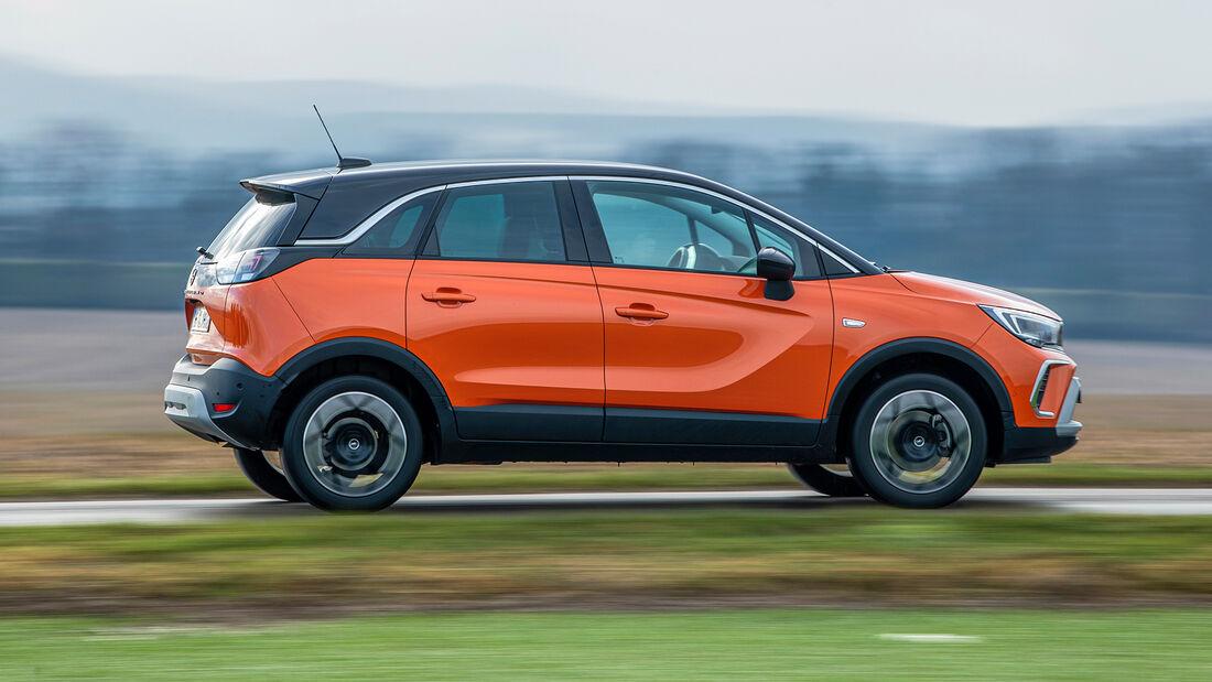 Opel Crossland, Exterieur