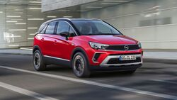 Opel Crossland Facelift 2021