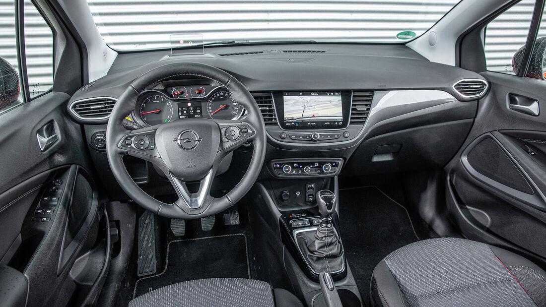 Opel Crossland, Interieur