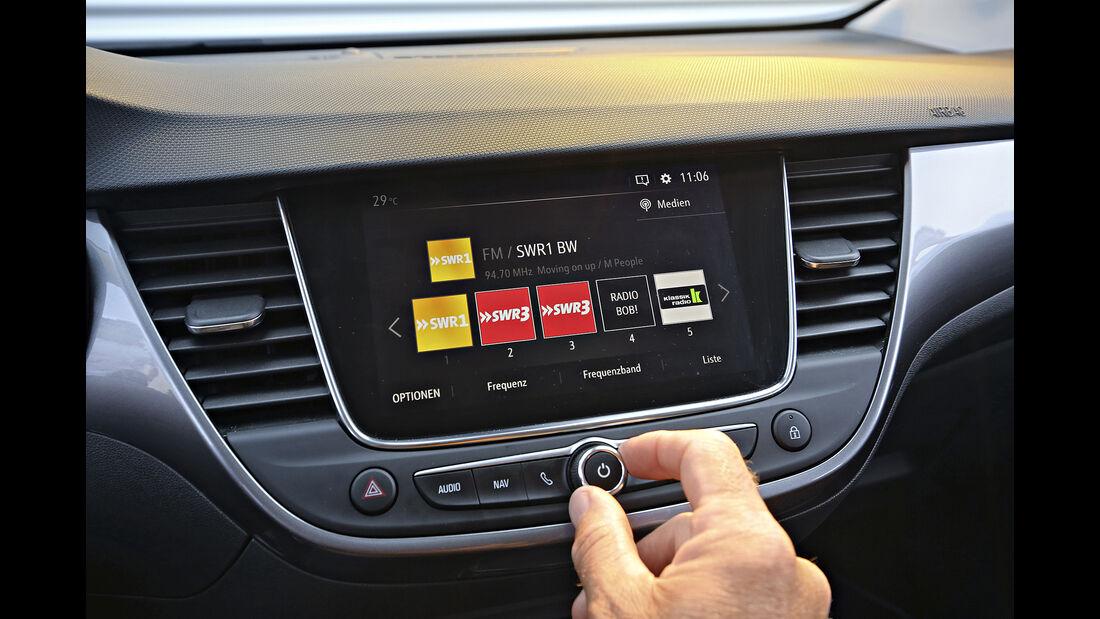 Opel Crossland X 1.2 DI Turbo, Interieur
