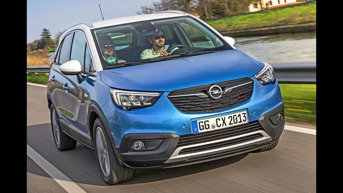 Opel Crossland X, Best Cars 2020, Kategorie I Kompakte SUV/Geländewagen