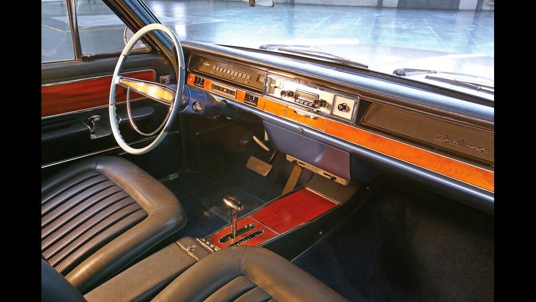 Opel Diplomat A Coupe´, Innenraum