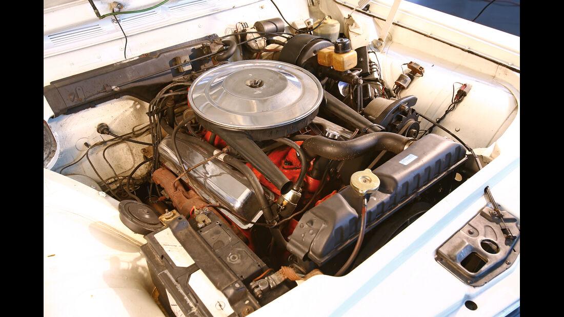 Opel Diplomat A Coupe´, Motorraum