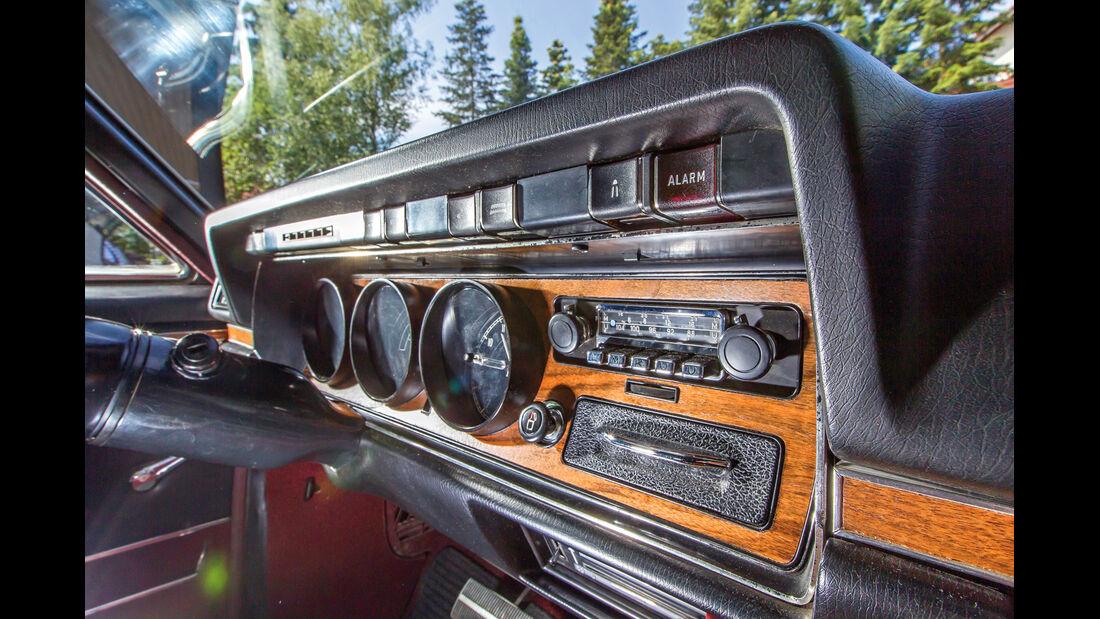 Opel Diplomat B Cabriolet, Armaturenbrett