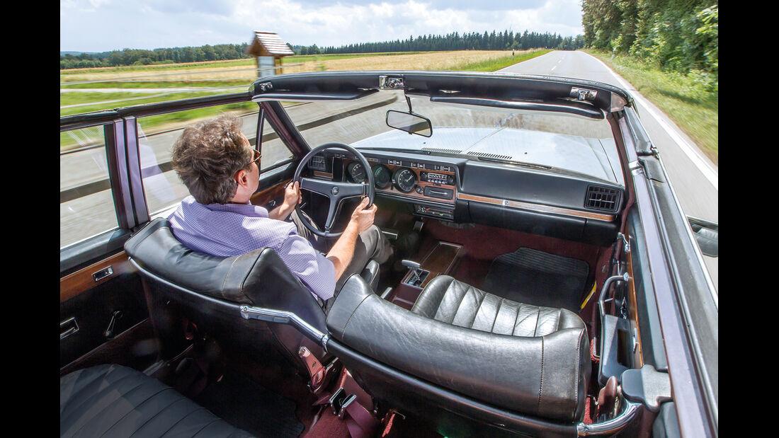Opel Diplomat B Cabriolet, Innenraum, Cockpit