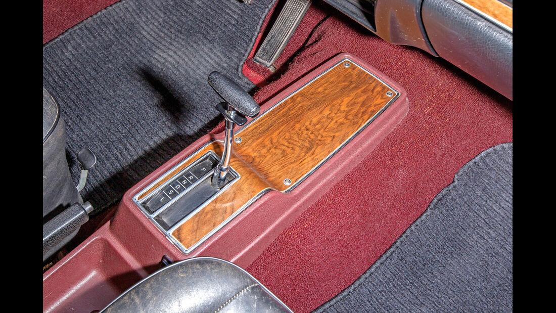 Opel Diplomat B Cabriolet, Schaltung