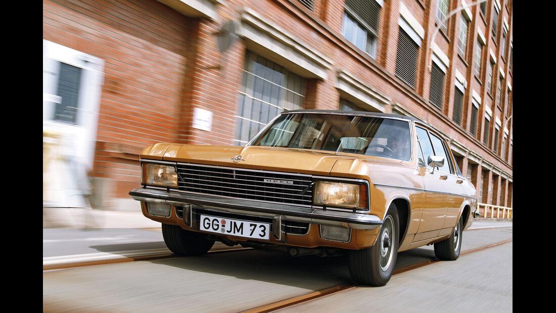 Opel Diplomat, Frontansicht