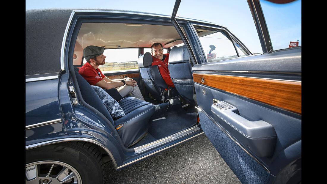 Opel Diplomat V8, Interieur