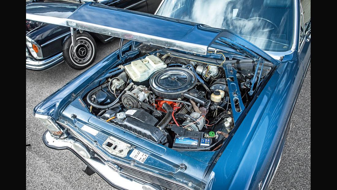Opel Diplomat V8, Motor