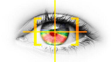Opel Eye tracking system Licht Blickrichtung
