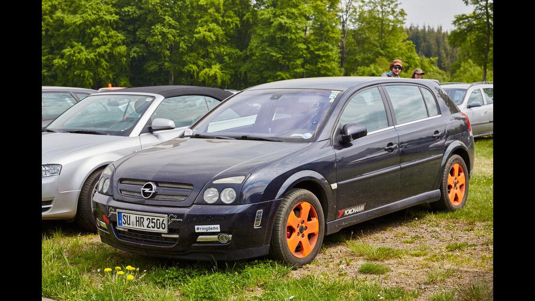Opel - Fan-Autos - 24h-Rennen Nürburgring 2015 - 14.5.2015