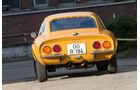 Opel GT 1900, Heckansicht