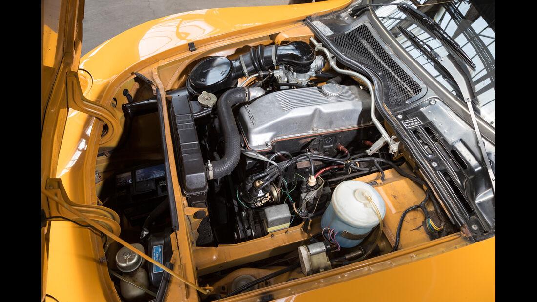 Opel GT 1900, Motor
