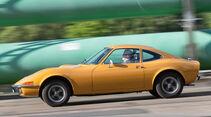 Opel GT 1900, Seitenansicht