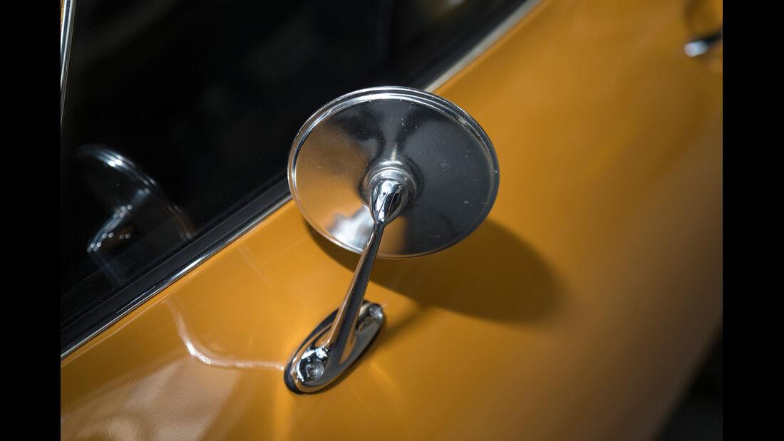 Opel GT 1900, Seitenspiegel