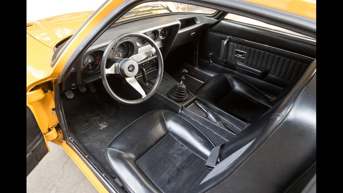 Opel GT, Cockpit