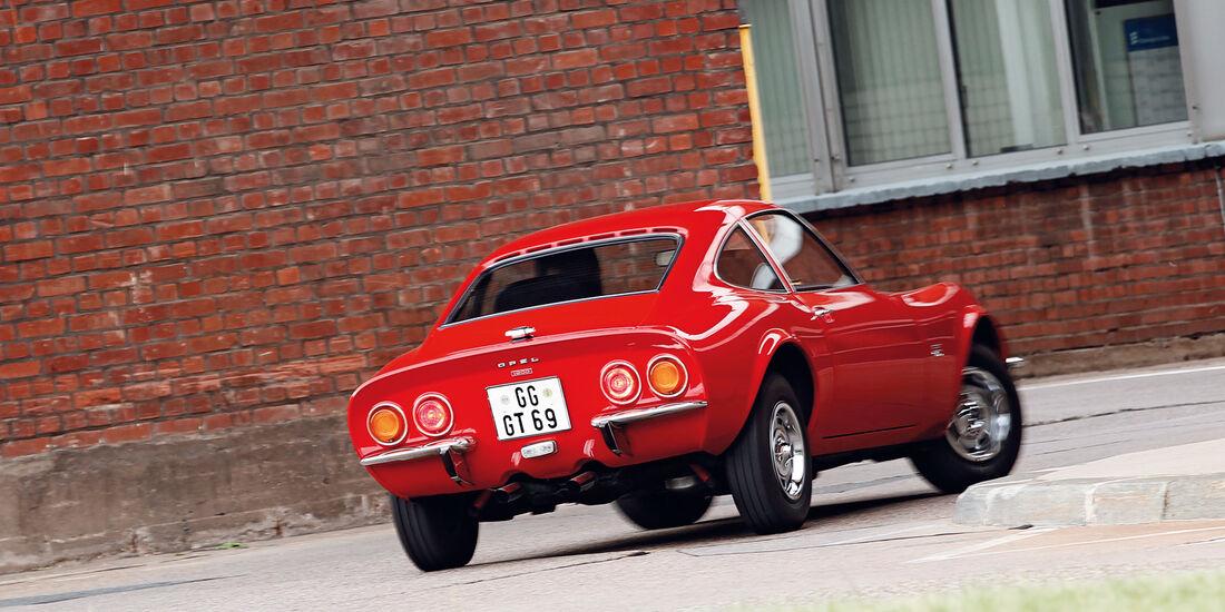 Opel GT, Heck